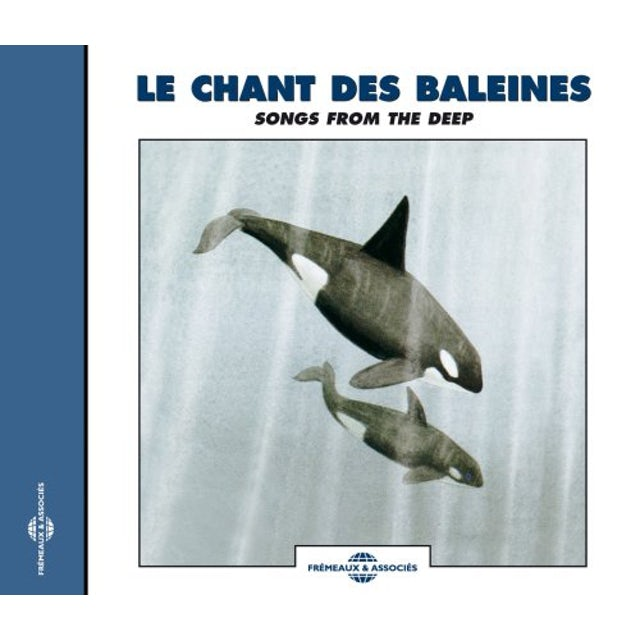 Sounds of Nature RECORDINGS OF WHALE SOUNDS: SONGS FROM THE DEEP CD