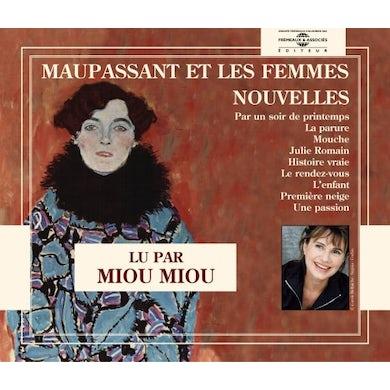 Miou Miou NOUVELLES MAUPASSANT CD