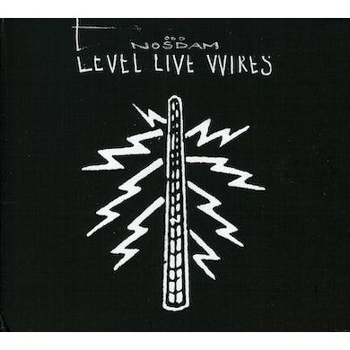 Odd Nosdam LEVEL LIVE WIRES CD