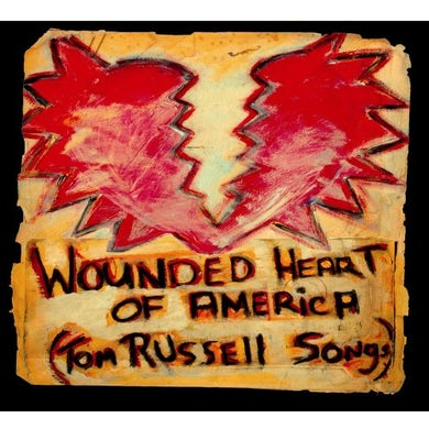 Tom Russell WOUNDED HEART OF AMERICA CD