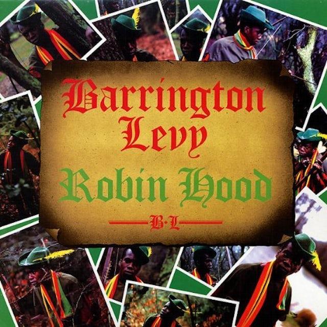 Barrington Levy ROBIN HOOD Vinyl Record