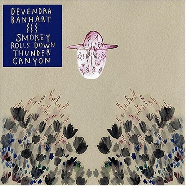 Devendra Banhart SMOKEY ROLLS DOWN THUNDER CANYON Vinyl Record
