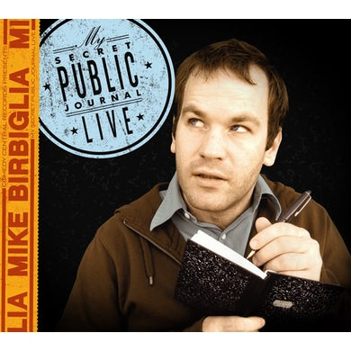 Mike Birbiglia MY SECRET PUBLIC JOURNAL LIVE CD