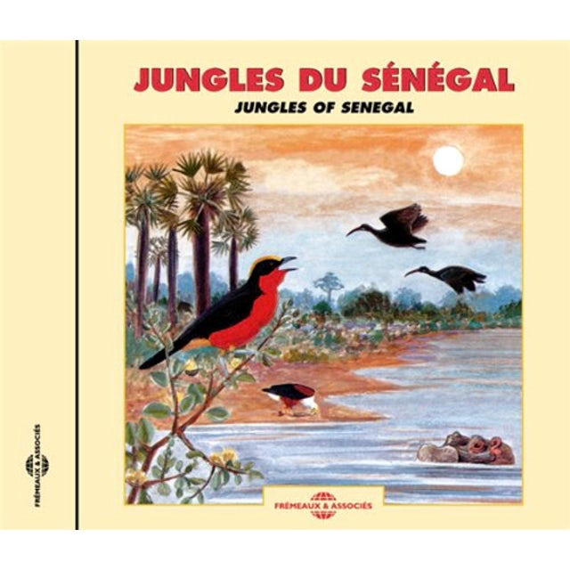 Sounds of Nature JUNGLES OF SENEGAL CD