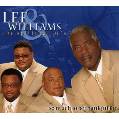 Lee Williams SO MUCH TO BE THANKFUL FOR CD