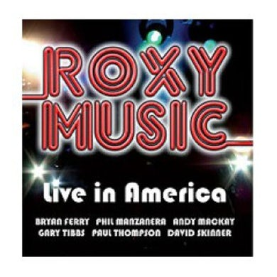 Roxy Music ALIVE IN AMERICA CD