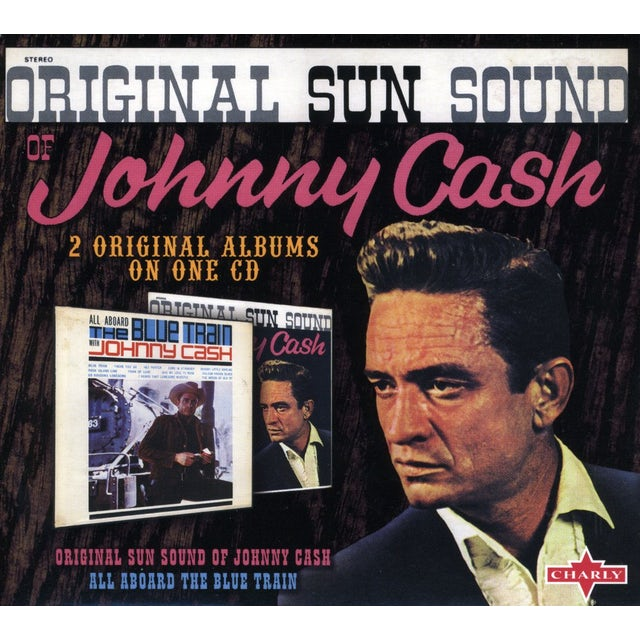 Johnny Cash ALL ABOARD THE BLUE TRAIN / ORIGINAL SUN SOUND CD