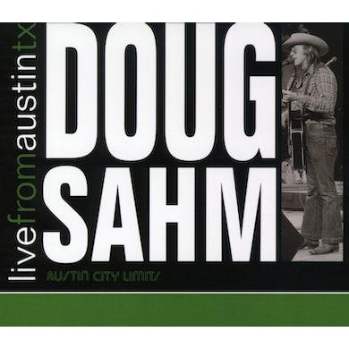 Doug Sahm LIVE FROM AUSTIN TEXAS CD