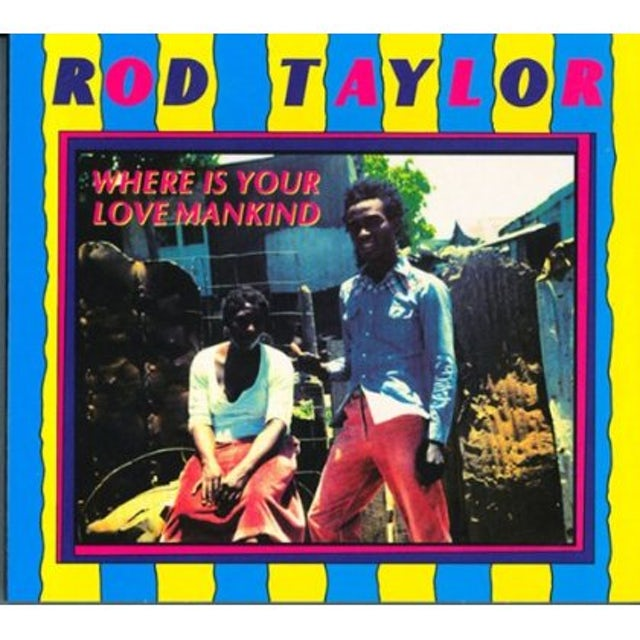 Rod Taylor WHERE IS YOUR LOVE MANKIND Vinyl Record