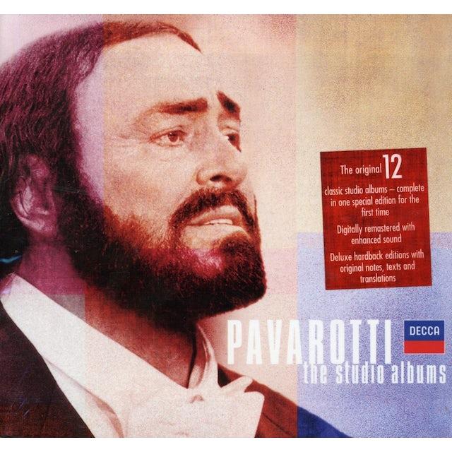Luciano Pavarotti STUDIO COLLECTION BOXED SET CD