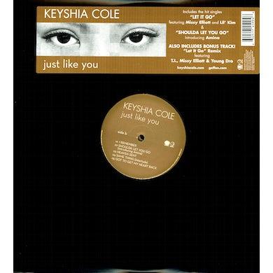 Keyshia Cole JUST LIKE YOU Vinyl Record