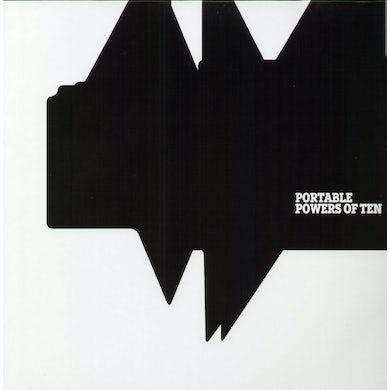 Portable POWERS OF TEN Vinyl Record