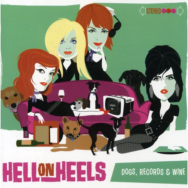 Hell On Wheels DOGS RECORDS & WINE CD