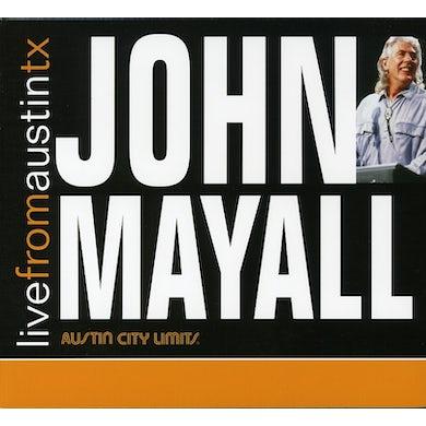 John Mayall LIVE FROM AUSTIN TEXAS CD