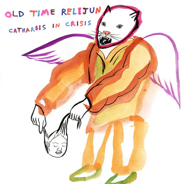 Old Time Relijun CATHARSIS IN CRISIS Vinyl Record
