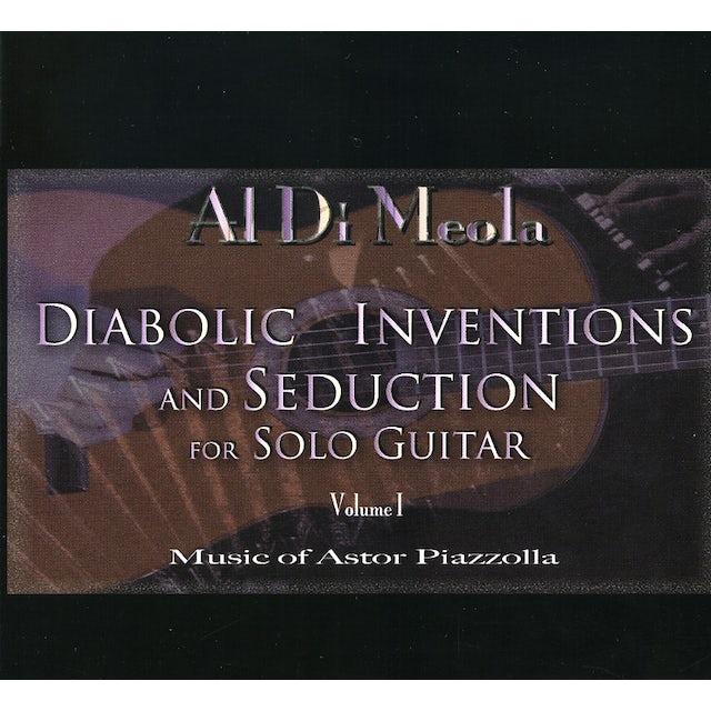 Al Di Meola DIABOLIC INVENTIONS & SEDUCTION FOR SOLO GUITAR 1 CD