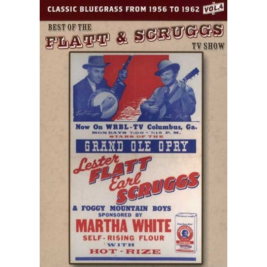 BEST OF THE FLATT & SCRUGGS TV SHOW 4 DVD