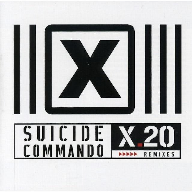 Suicide Commando X20 REMIXES CD