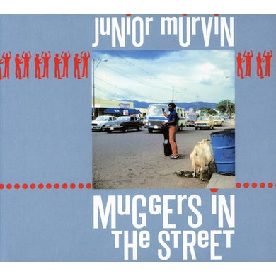 Junior Murvin MUGGERS IN THE STREET CD