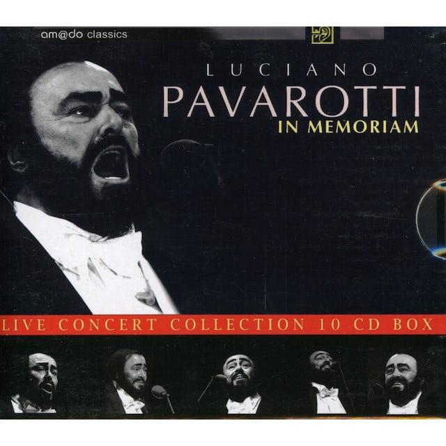 Luciano Pavarotti IN MEMORIAM 1935-2007 CD