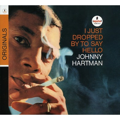 Johnny Hartman I JUST DROPPED BY TO SAY HELLO CD