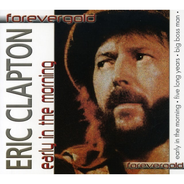 Eric Clapton EARLY IN THE MORNING CD