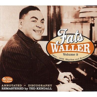 Fats Waller COMPLETE PUBLISHED SIDES 3 CD