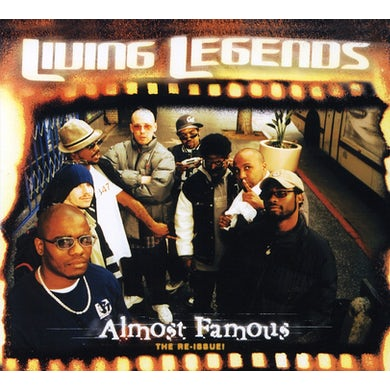 Living Legends ALMOST FAMOUS CD