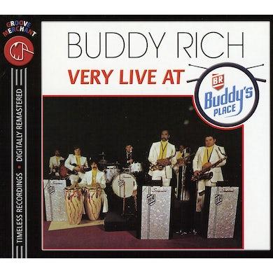Buddy Rich VERY LIVE AR BUDDY'S PLACE CD