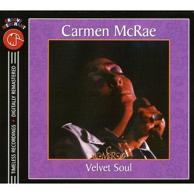 Carmen McRae VELVET SOUL CD