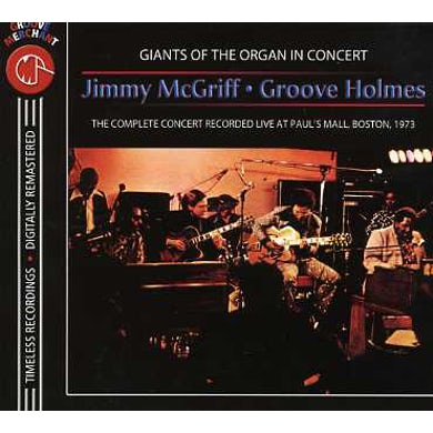 Jimmy Mcgriff WITH GROOVE HOLMES IN CONCERT CD