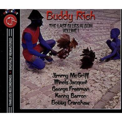 Buddy Rich LAST BLUES ALBUM 1 CD
