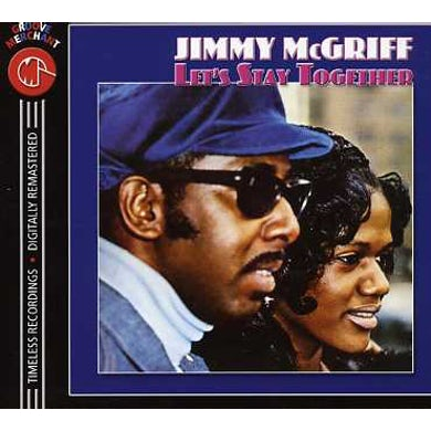 Jimmy Mcgriff LET'S STAY TOGETHER CD