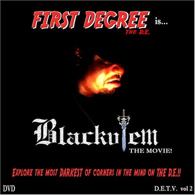 First Degree The DE BLACKULEM THE MOVIE DVD
