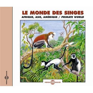 Sounds of Nature PRIMATE WORLD: AFRICA ASIA AMERICA & MADAGASCAR CD