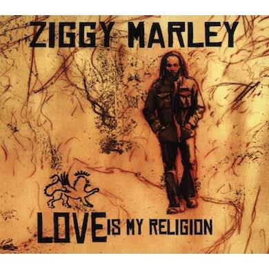 Ziggy Marley LOVE IS MY RELIGION CD