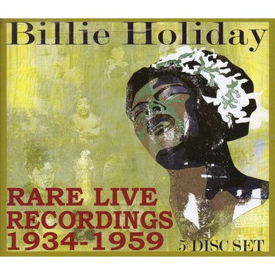 Billie Holiday RARE LIVE RECORDINGS 1935-1959 CD