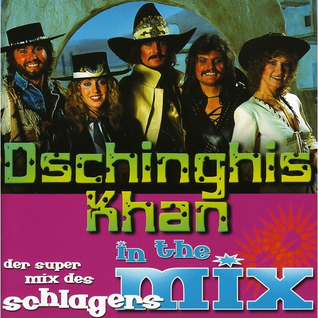 DSCHINGHIS KHAN-MIX CD
