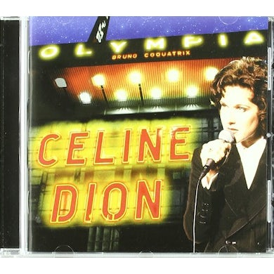 Celine Dion A L'OLYMPIA CD