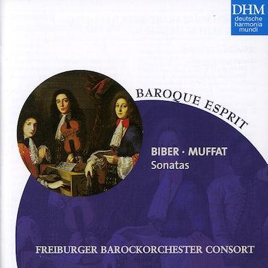 Freiburger Barockorchester BIBER, MUFFAT: SONATAS CD