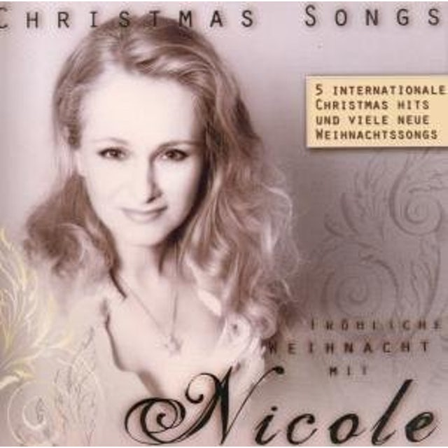 Nicole CHRISTMAS SONGS CD