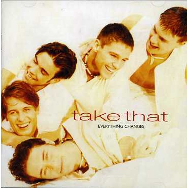 Take That EVERYTHING CHANGES CD