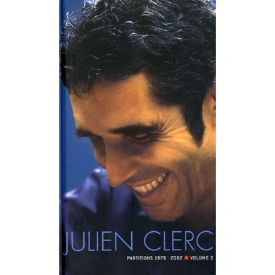 Julien Clerc PARTITIONS 1979-2002 CD