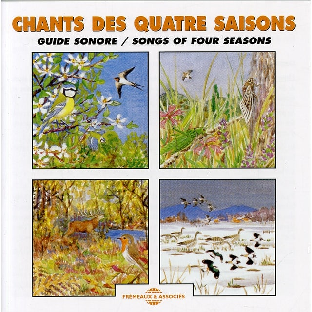 Sounds of Nature SONGS OF FOUR SEASONS CD