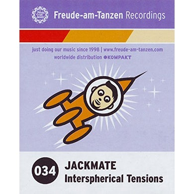 Jackmate INTERSPHERICAL TENSIONS Vinyl Record