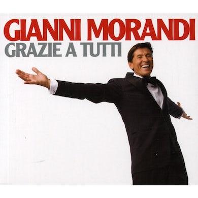 Gianni Morandi GRAZIE A TUTTI CD