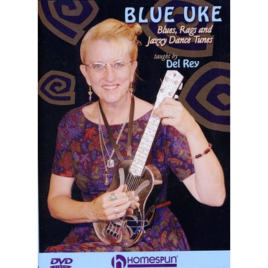 Del Rey BLUE UKE DVD