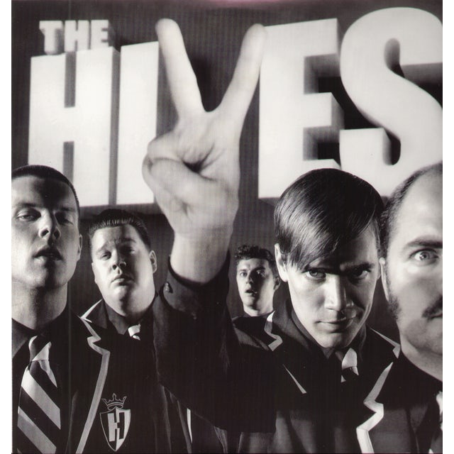 The Hives BLACK & WHITE ALBUM Vinyl Record