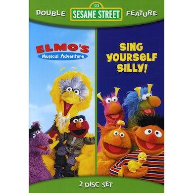 Sesame Street SING YOURSELF SILLY / ELMO'S MUSICAL ADVENTURE DVD