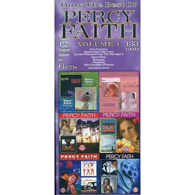 ONLY THE BEST OF PERCY FAITH 1 CD